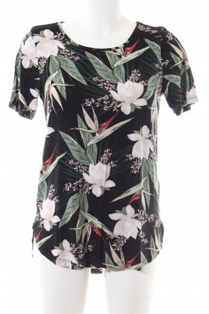 Gina Tricot Print-Shirt Allover-Druck Casual-Look