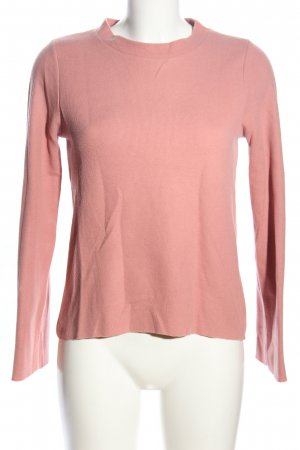 Gina Tricot Rundhalspullover pink Casual-Look