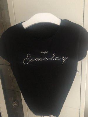 Gina Tricot Shirt mit Pailletten