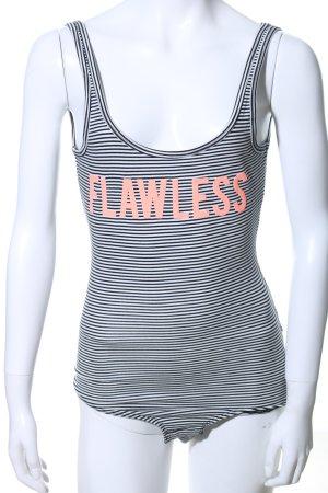 Gina Tricot Shirtbody Schriftzug gedruckt Casual-Look