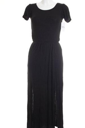 Gina Tricot Shirtkleid schwarz schlichter Stil
