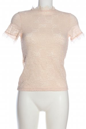 Gina Tricot Spitzenbluse nude Casual-Look