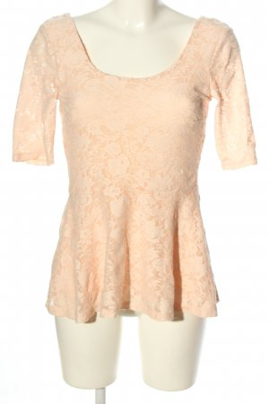 Gina Tricot Lace Blouse cream elegant