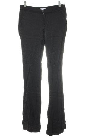 Gina Tricot Stoffhose schwarz schlichter Stil