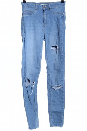 Gina Tricot Stretch Jeans blue casual look