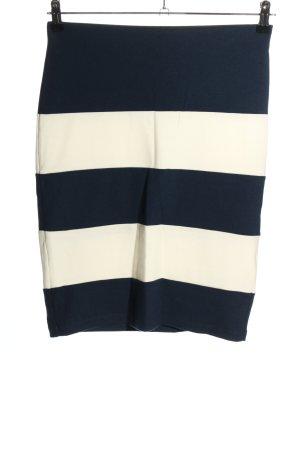 Gina Tricot Spódnica ze stretchu niebieski-w kolorze białej wełny