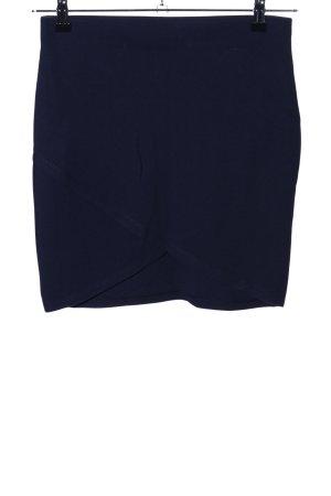 Gina Tricot Stretchrock blau Casual-Look