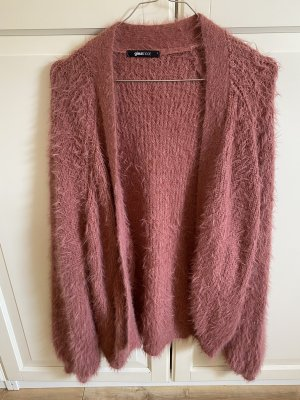Gina Tricot Knitted Cardigan grey lilac-pink