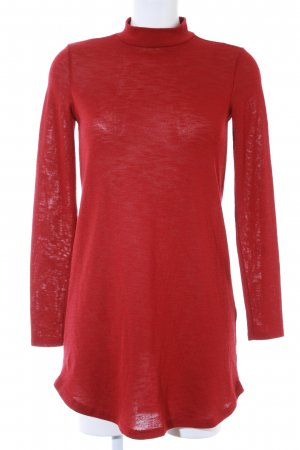 Gina Tricot Strickkleid rot Casual-Look