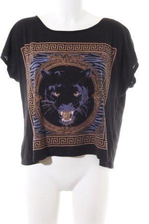 Gina Tricot T-Shirt Motivdruck Casual-Look