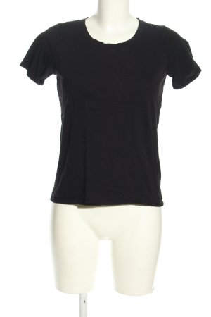 Gina Tricot T-Shirt schwarz Casual-Look