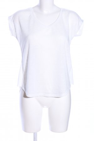 Gina Tricot T-Shirt weiß Casual-Look