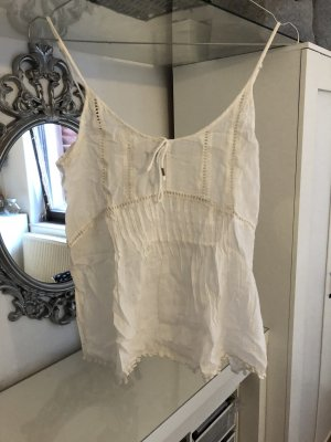 Gina Tricot Lace Top white