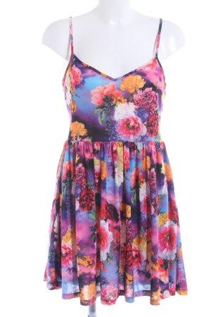 Gina Tricot Trägerkleid Blumenmuster extravaganter Stil