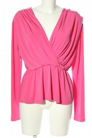 Gina Tricot Wickelshirt pink Business-Look