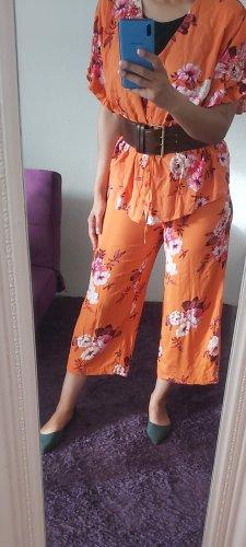 Gina Tricot Traje de pantalón naranja