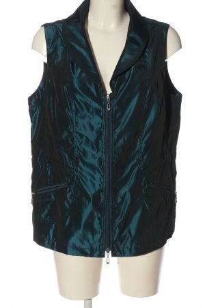 Ginalaura Sportvest turkoois casual uitstraling