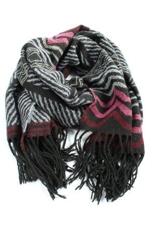 GinaTricot Sjaal met franjes volledige print casual uitstraling