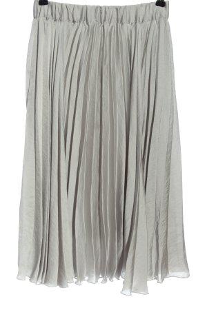 GinaTricot Jupe évasée gris clair style décontracté