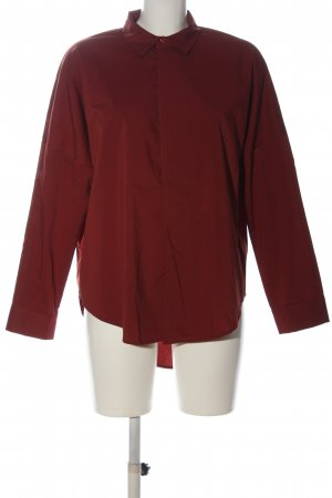 GinaTricot Hemd-Bluse rot Business-Look