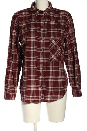 GinaTricot Koszula w kratę czerwony-biały Wzór w kratkę W stylu casual