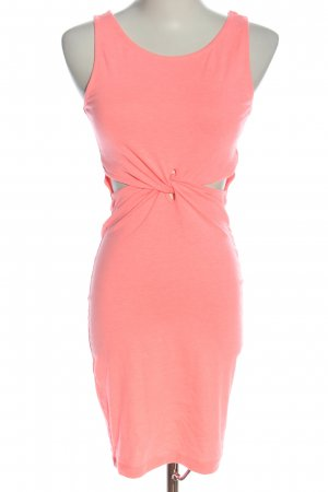 GinaTricot Cut Out Dress pink elegant