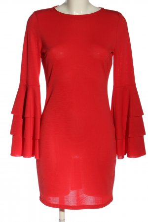 GinaTricot Minikleid rot Business-Look