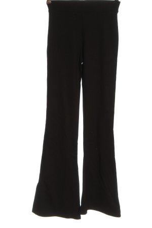 GinaTricot Pantalón de campana negro elegante
