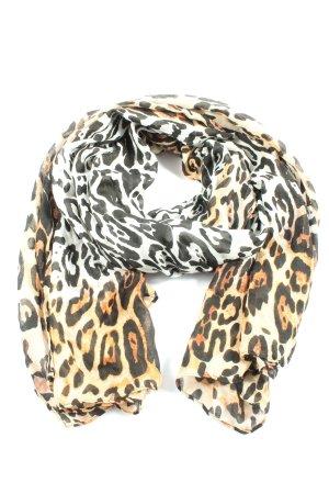 GinaTricot Châle au tricot motif léopard élégant