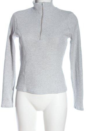 GinaTricot Jersey marinero gris claro moteado look casual