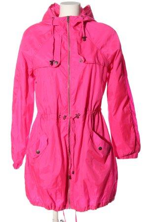 GinaTricot Übergangsjacke pink Casual-Look