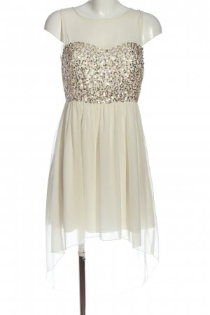 GinaTricot High Low Dress natural white elegant