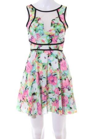 Ginger Fizz A-Linien Kleid Blumenmuster Casual-Look
