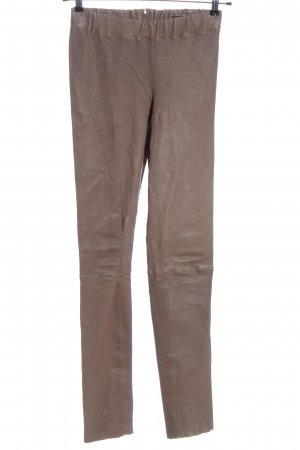 GinGer Leather Trousers brown casual look