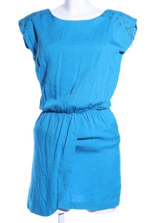 Ginger & soul Blusenkleid blau Casual-Look