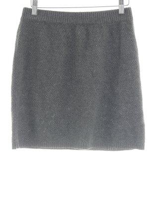 Ginger & soul Knitted Skirt dark grey-orange casual look