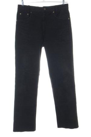 Gino Ginero Leren broek zwart casual uitstraling