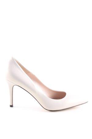 Gino Rossi High Heels wollweiß Business-Look