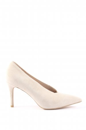 Gino Rossi Spitz-Pumps creme Casual-Look