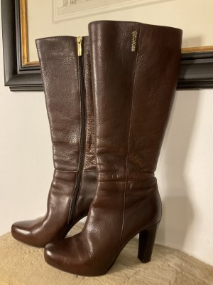 Gino Rossi High Heel Boots brown