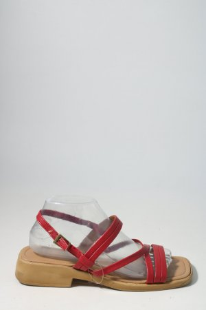 Gino ventori Strapped High-Heeled Sandals red casual look