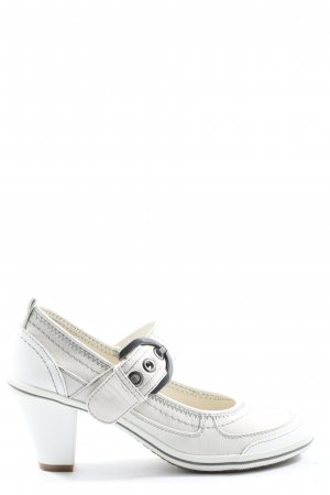 Gino ventori Backless Pumps white casual look