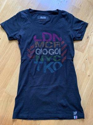 Gio Goi Tshirt Shirt Oberteil schwarz Größe S 36 wie neu Oberteil Top