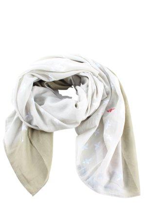 Gioia Summer Scarf white-khaki themed print casual look