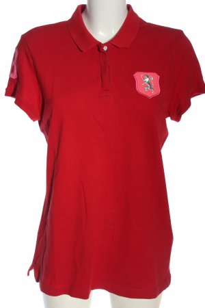 """Giordano"" Polo rouge style décontracté"