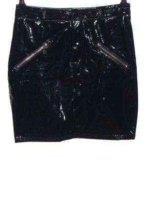 Giorgia Minirock schwarz extravaganter Stil