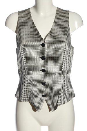 Giorgio  Armani Waistcoat white-black allover print business style