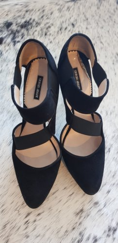 Armani High-Front Pumps black