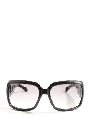Giorgio  Armani Occhiale da sole spigoloso nero stile casual