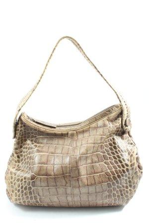 Giorgio  Armani Handbag brown allover print casual look